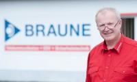 Das Bild zeigt unseren Geschäftsführer Steffen-Braune