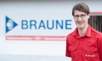 Das Bild zeigt unseren Mitarbeiter Andre-Schulze
