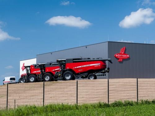 Firmengebäude der Böttger Agrartechnik - ein Referenzkunde der Firma Braune