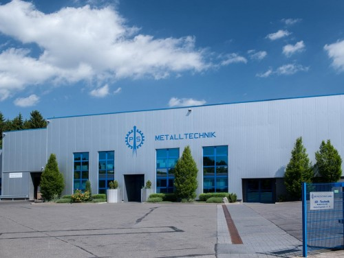 Firmengebäude der P & S Metaaltechnik - ein Referenzkunde der Firma Braune