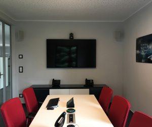 Besprechungsraum mit Medientechnik