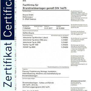 Fachfirma für Brandmeldeanlagen  – VdS Zertifizierung BMA