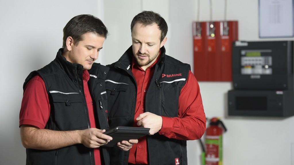 Bild Mitarbeiter - Brandmeldeanlagen Errichter Fa. BRAUNE