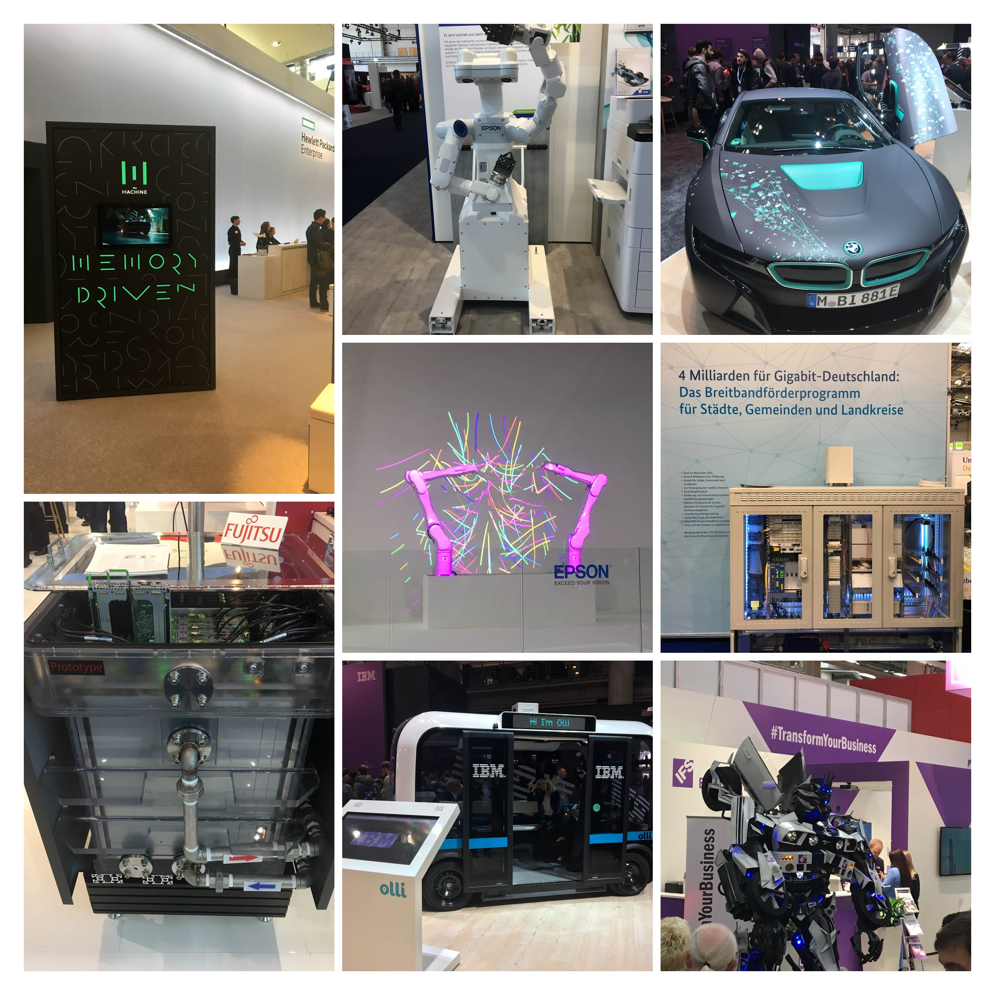 Cebit 2017 Collage