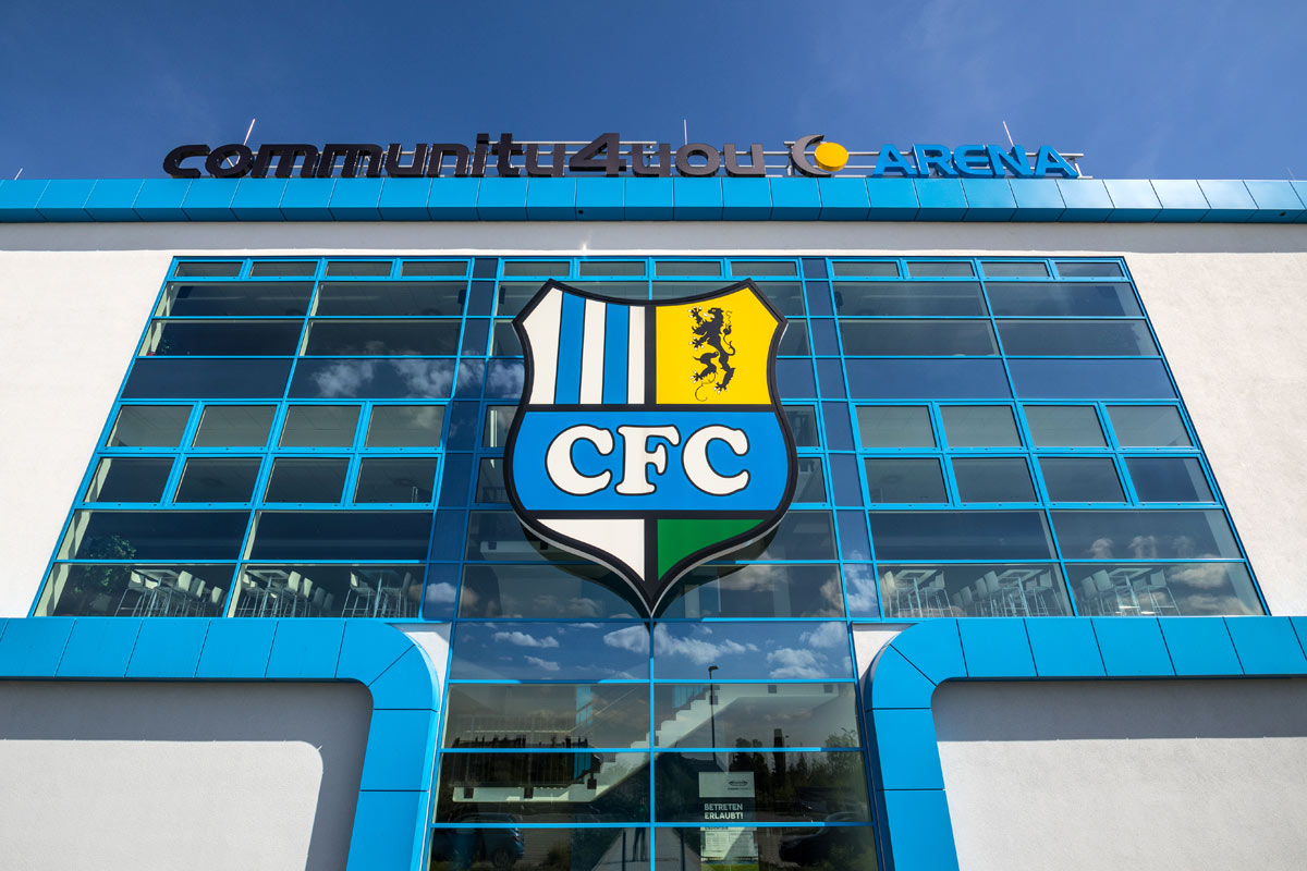 CFC Stadion Front