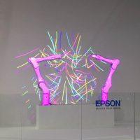 Tanzende Roboterarme von Espson
