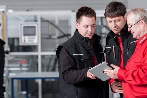 Lehrlings-Interview zur  Ausbildung als Elektroniker ITK