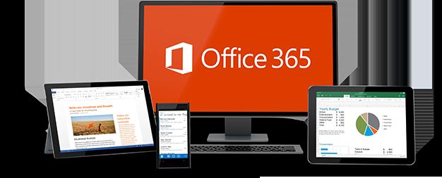 Office 365 auf verschiedenen Geräten