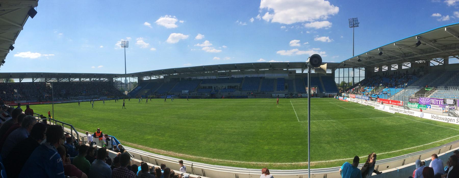 Fußballstadion Chemnitz